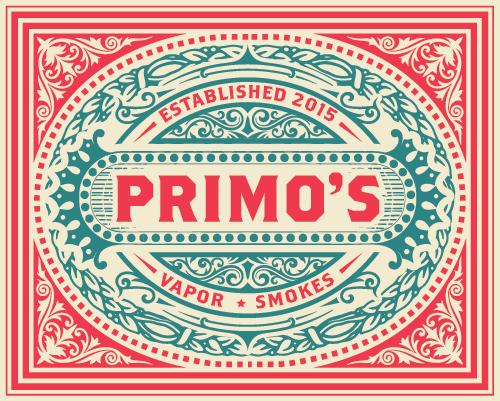 Primo's Vapor Smokes logo